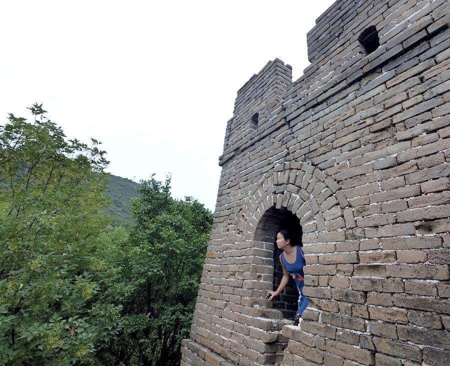 Beijing Mutianyu Great Wall Turret