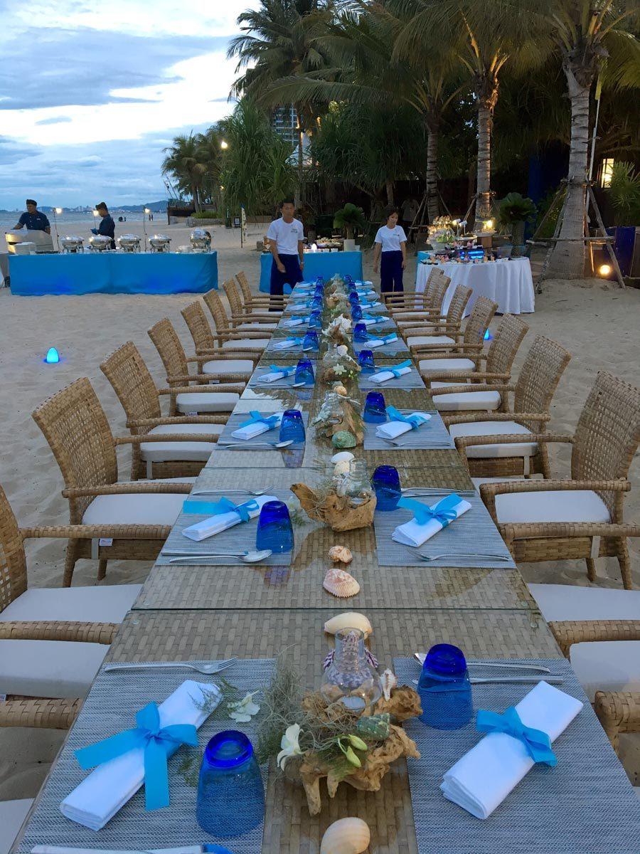 Hua Hin Radisson Beach Dinner