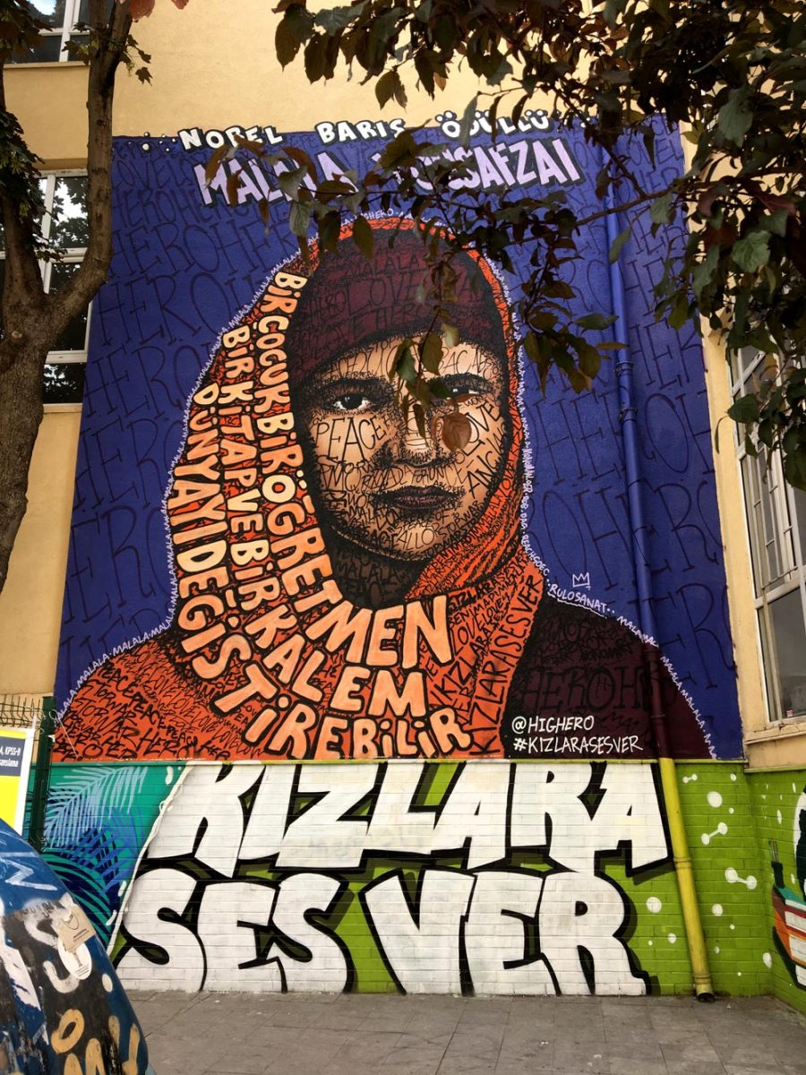 Istanbul Kadikoy Street Art Highero