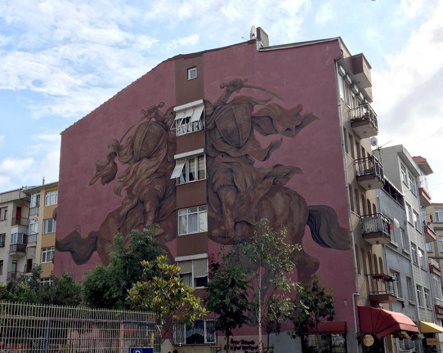 Istanbul Kadikoy Street Art Jaz Franco Fasoli