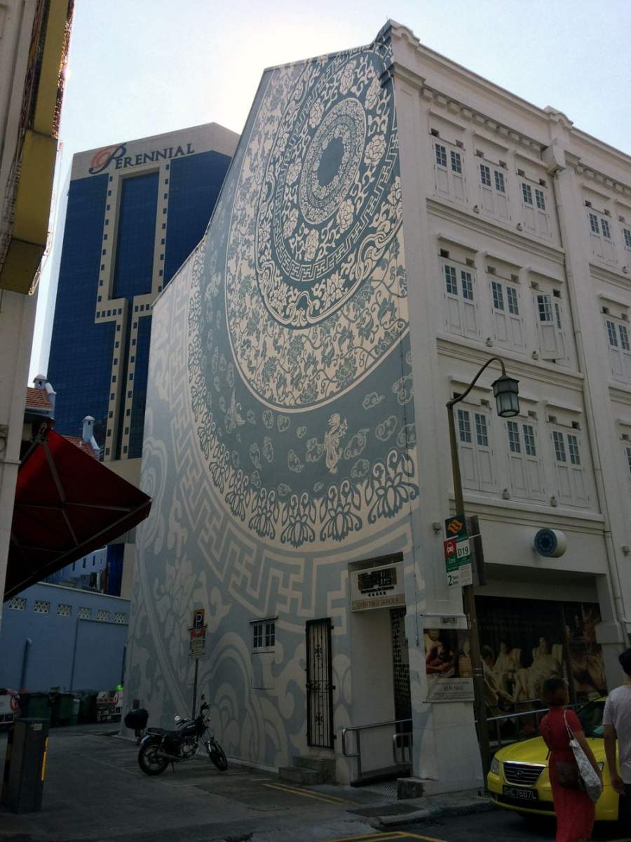 Singapore Street Art Mosque Street Porcelain