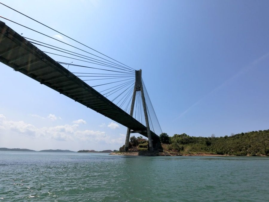 Batam Barelang Bridge Tengku Fisabilillah Close