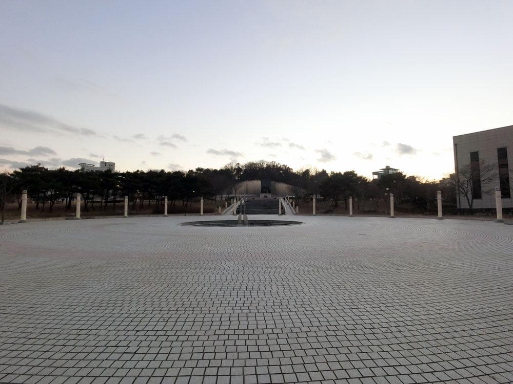 Gwangju 518 Memorial Park Unity Square