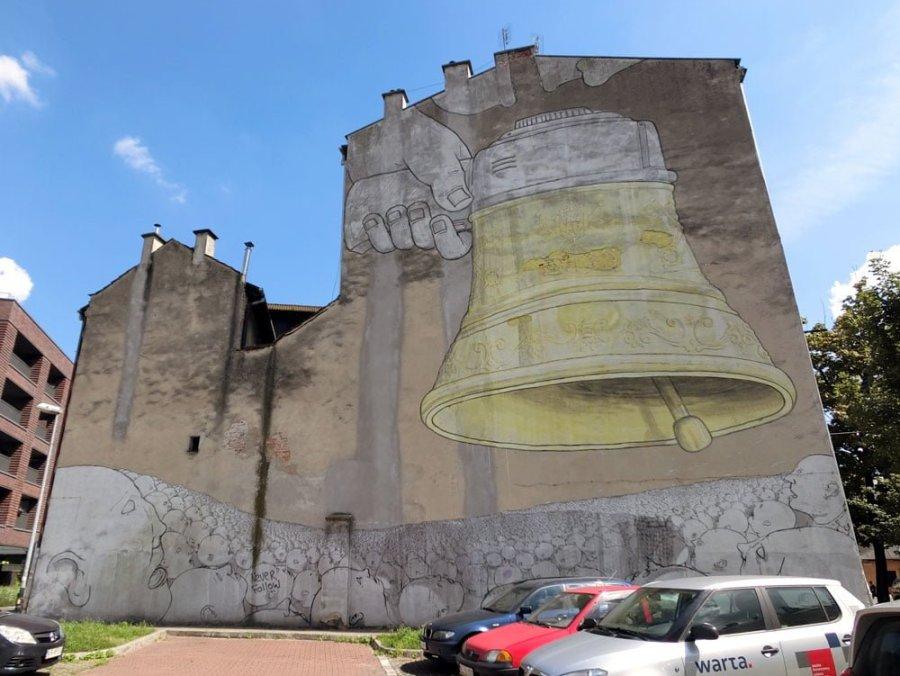 Poland Krakow Street Art Blu