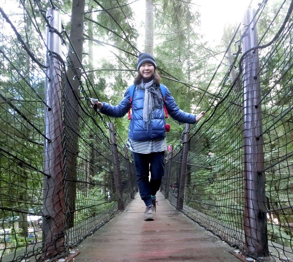 Vancouver Capilano Bridge Selfie