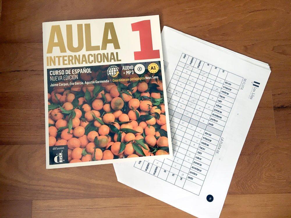 Aula Spanish Textbook