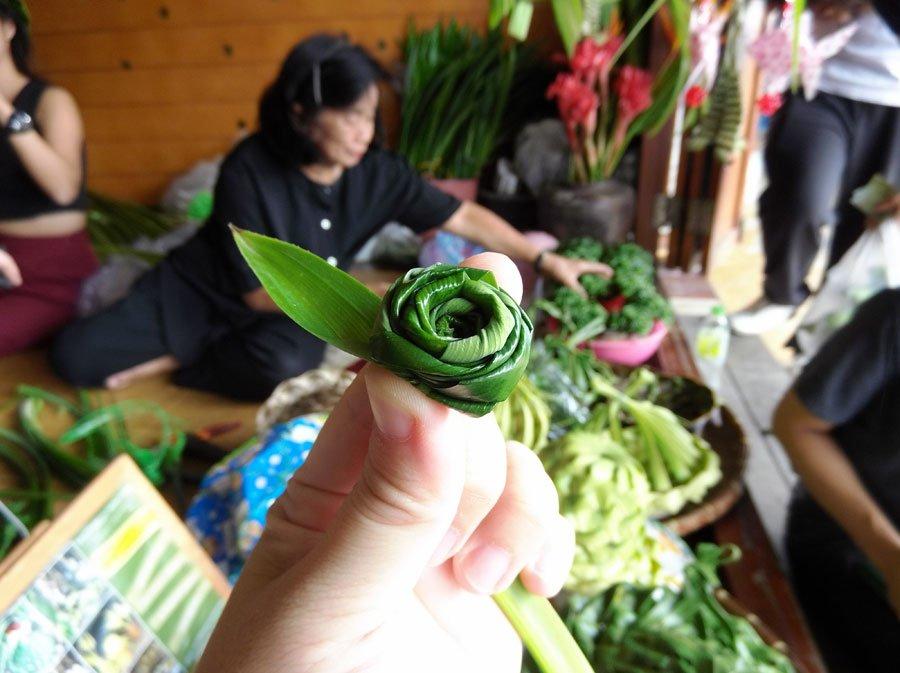 Amphawa Samut Songkhram Life Leaf Closeup