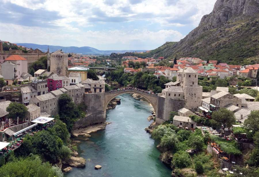 Mostar Stari Most Tower View