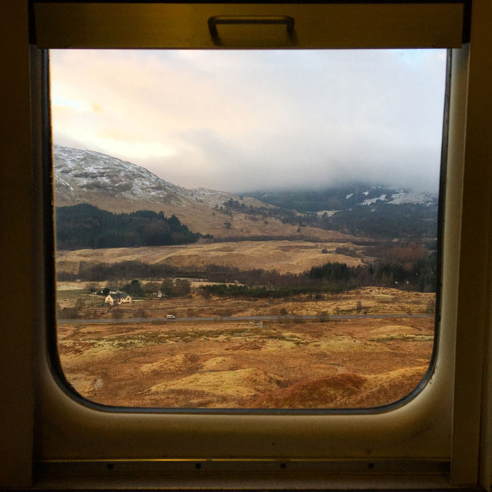London To Scotland On The Caledonian Sleeper Train The