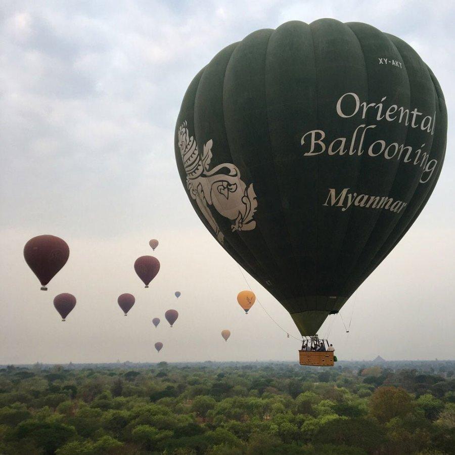 Bagan Ballooning Oriental Balloon Trees