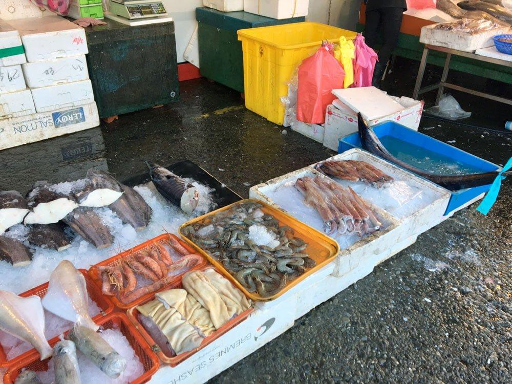 Yilan Nanfangao Nanning Market Fish