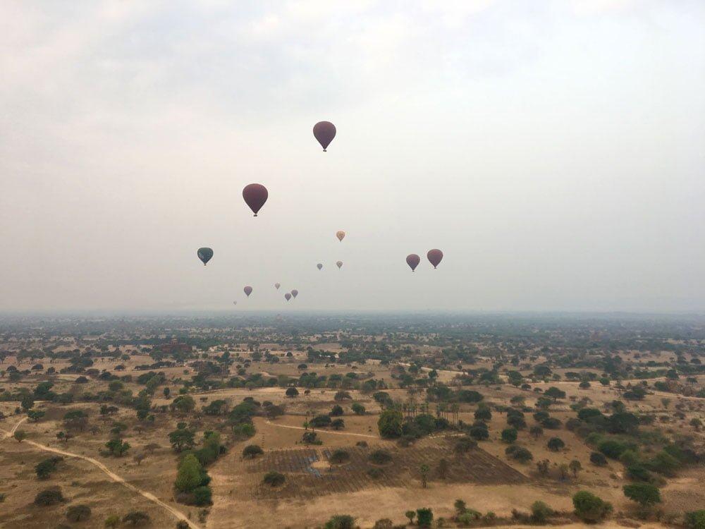 Bagan Ballooning Balloons Flying
