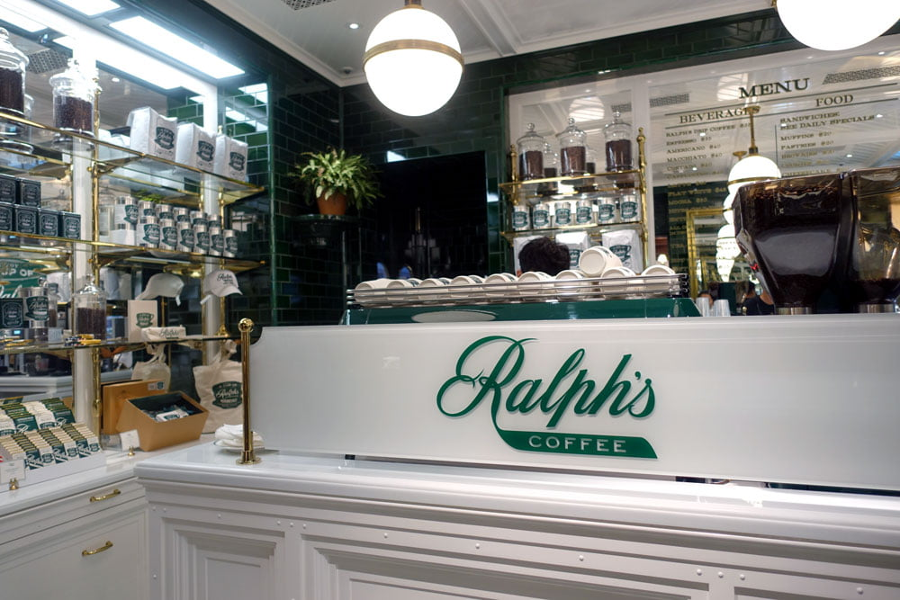 Hong Kong Harbour City Ralphs Coffee