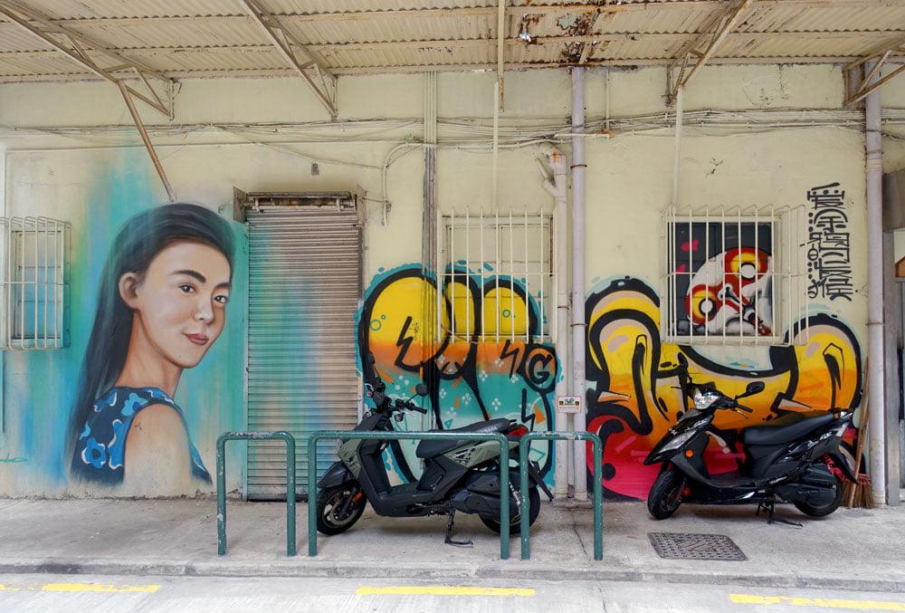 Macao Street Art Bamboo Antz
