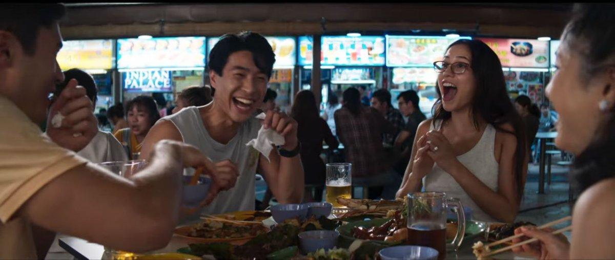 Singapore Crazy Rich Asians Trailer Newton Food Centre