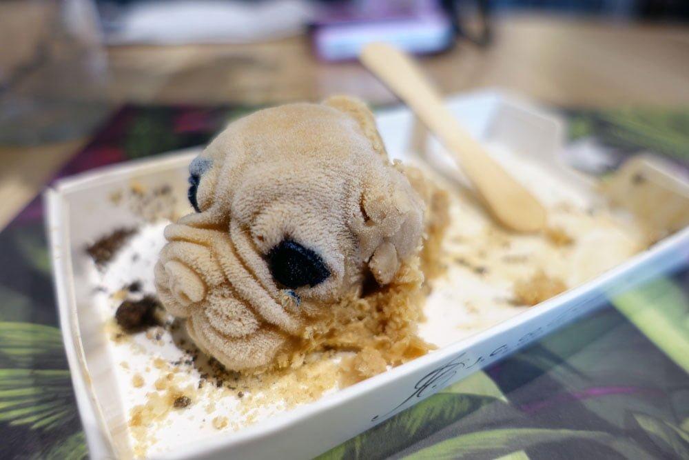 Kaohsiung JcoArt Ice Cream Dog Head