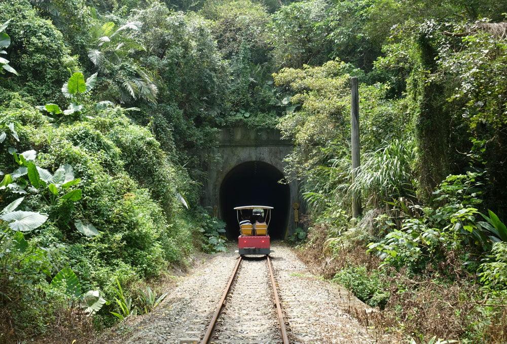 Miaoli Shengxing Old Mountain Line Railbike Track