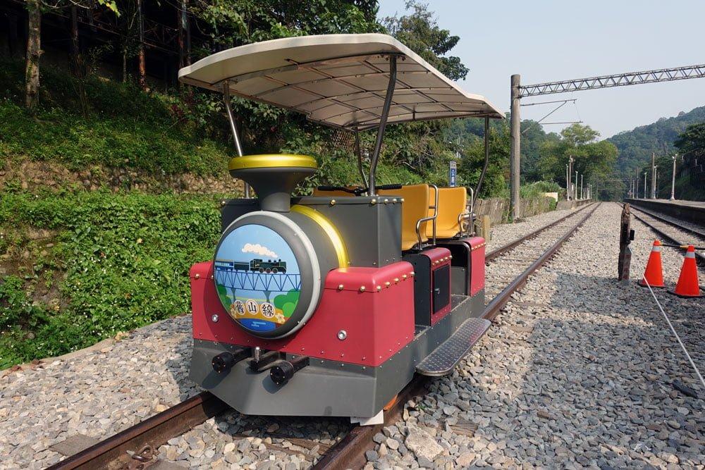Miaoli Shengxing Old Mountain Line Railbike