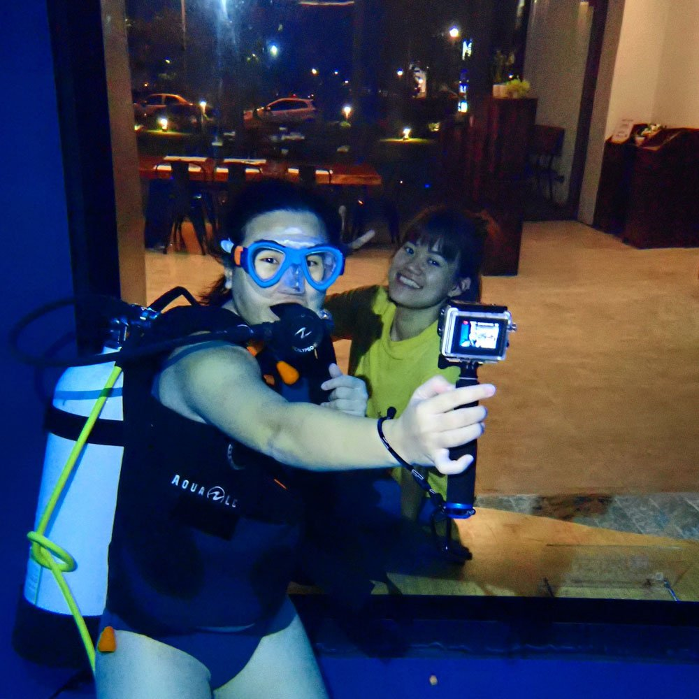Taichung DiveCube Pool Wefie Level 1
