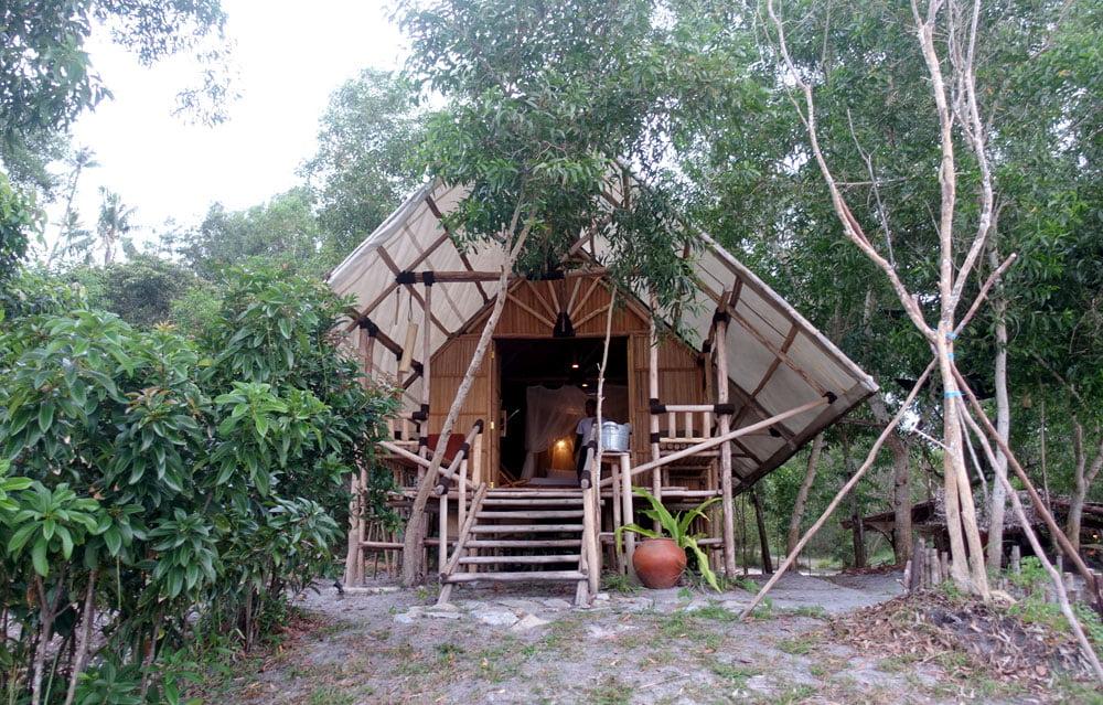 Belitung EcoBeachTent Billiton Hut