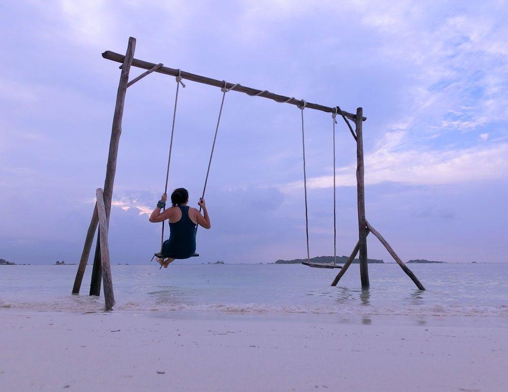 Belitung EcoBeachTent Swing Me