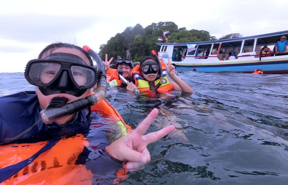 Belitung Lengkuas Island Snorkelling