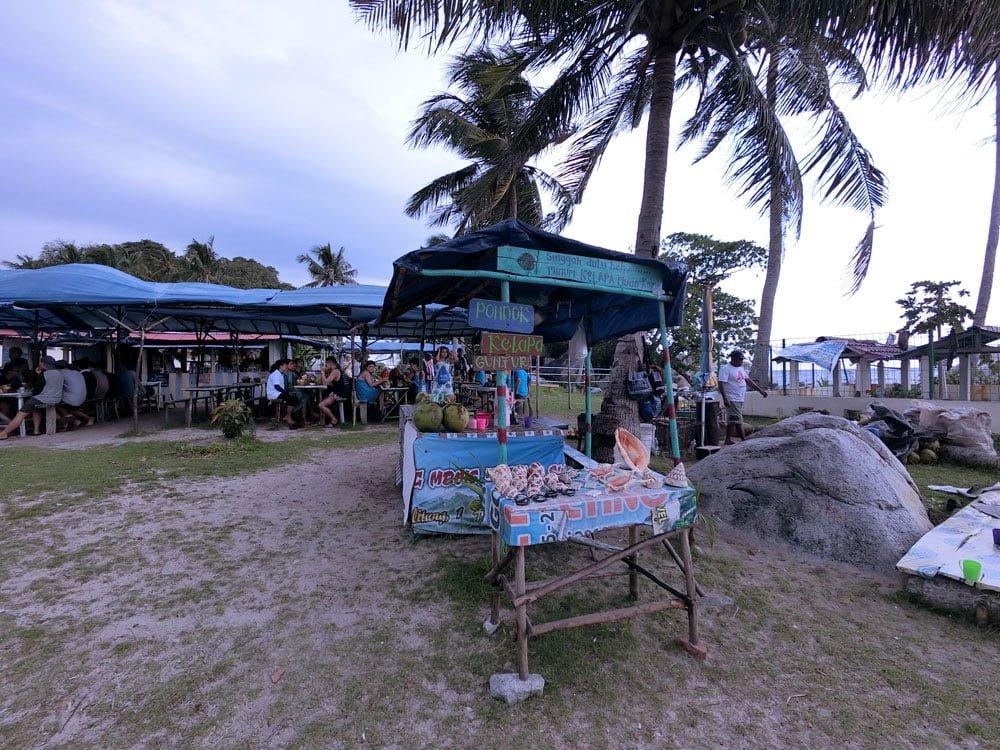 Belitung Lengkuas Island Stalls