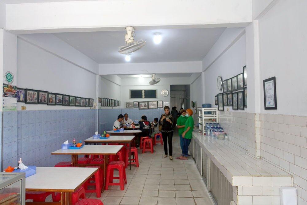 Belitung Mie Atep Interior