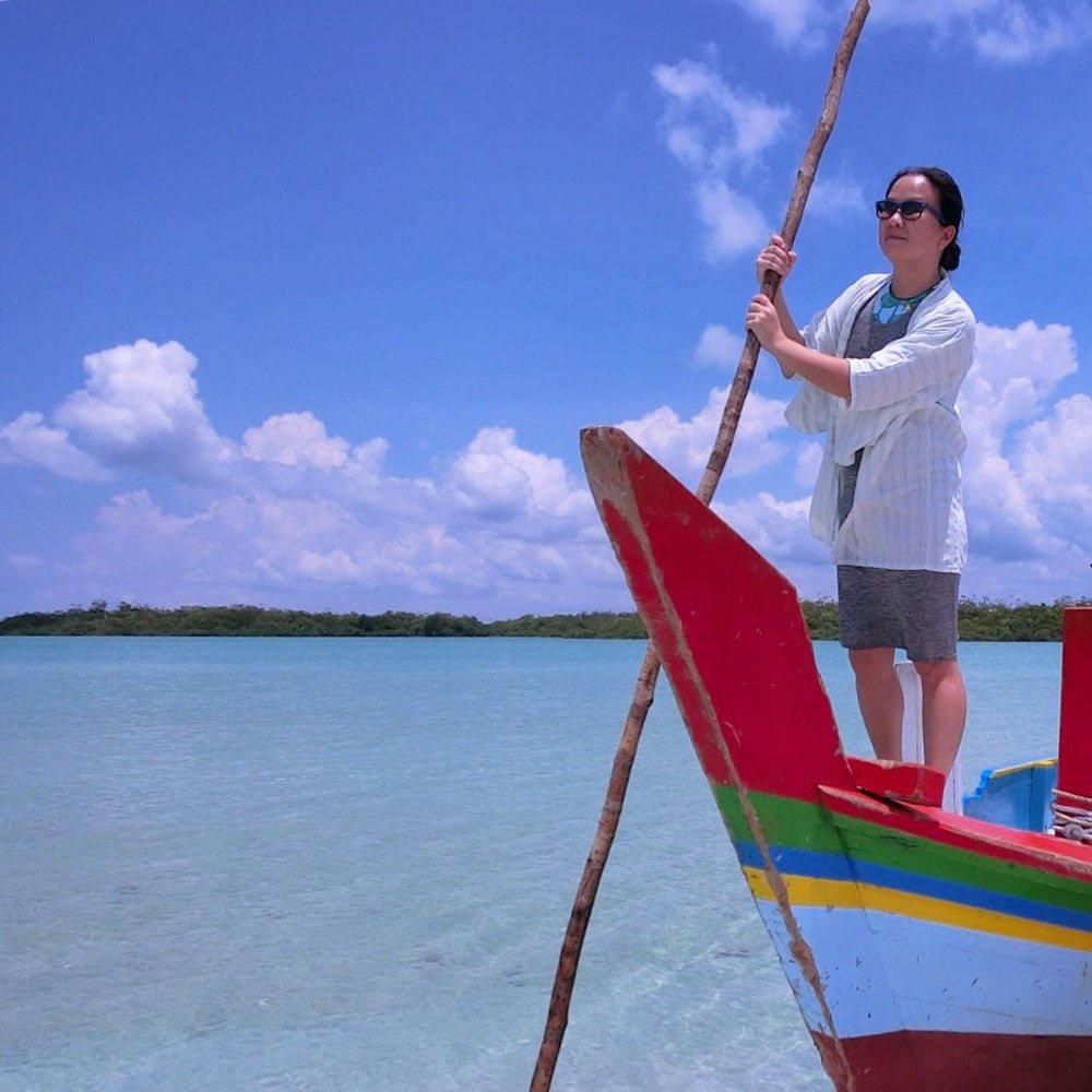Belitung Sandbar Island Boat Me Triston