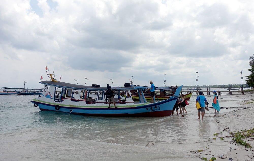 Belitung Tanjung Kelayang Boat