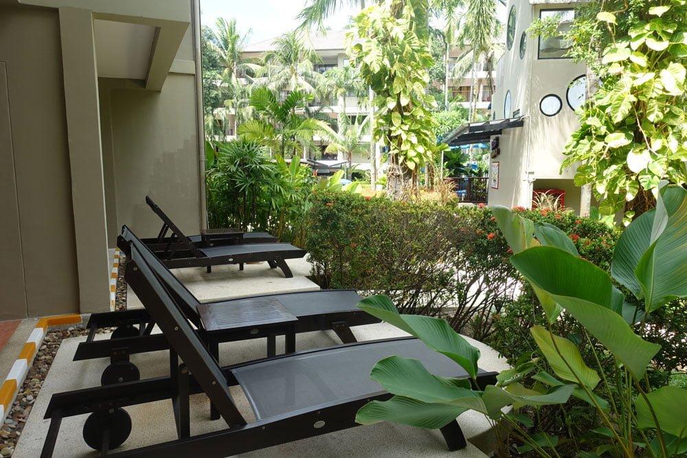 Novotel Phuket Surin Room Deckchairs