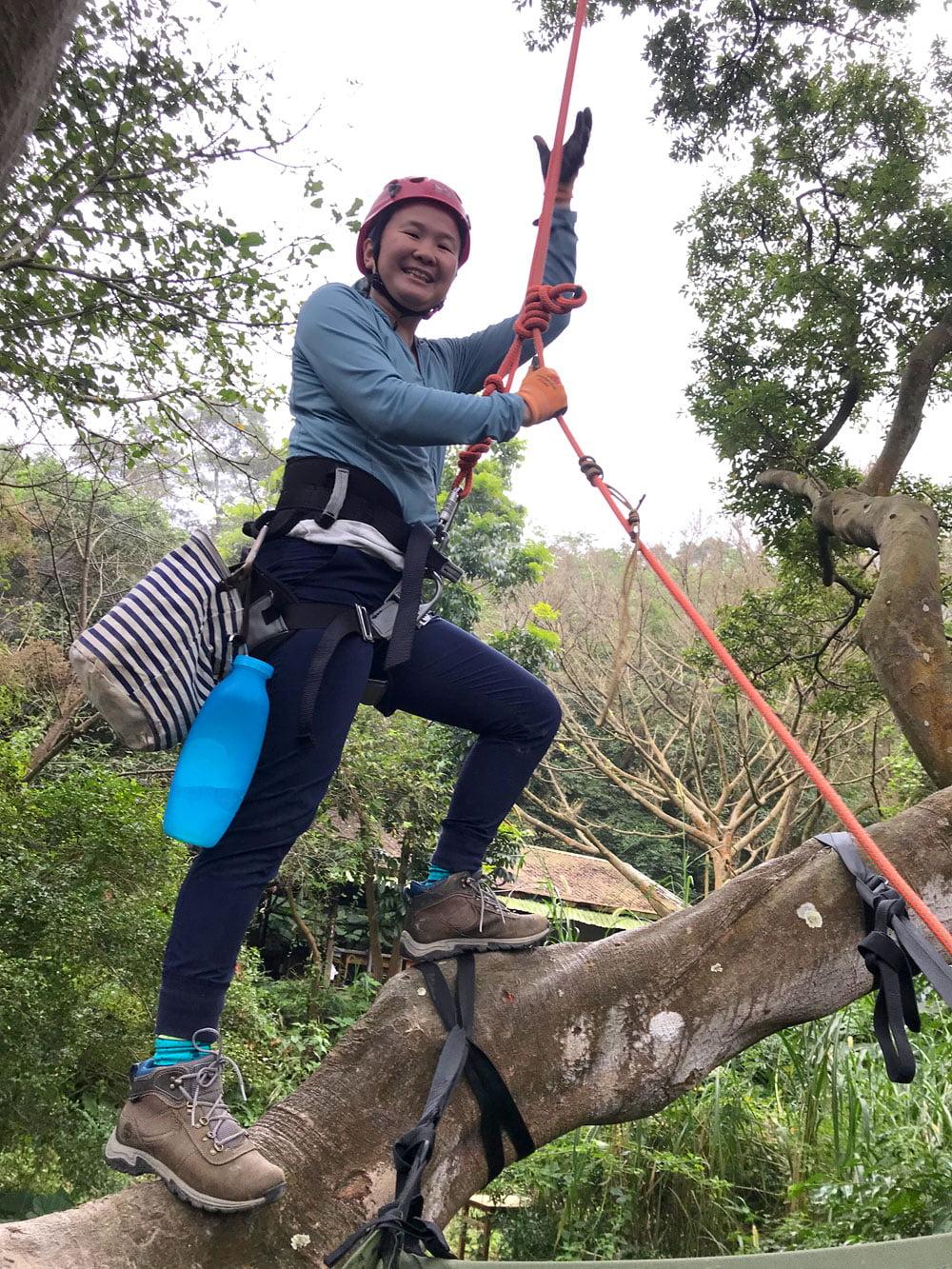 Taoyuan Tree Climbing Branch Me