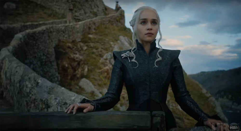 Game of Thrones Trailer Dany Standing