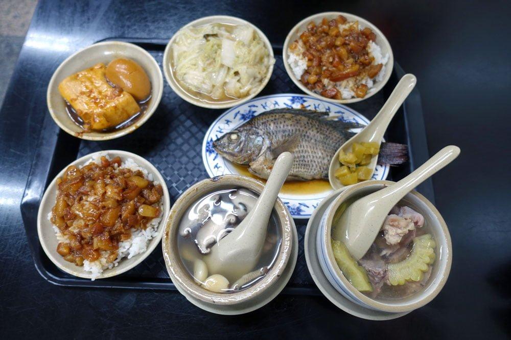 Taipei Motorbike Tour Jinda Food