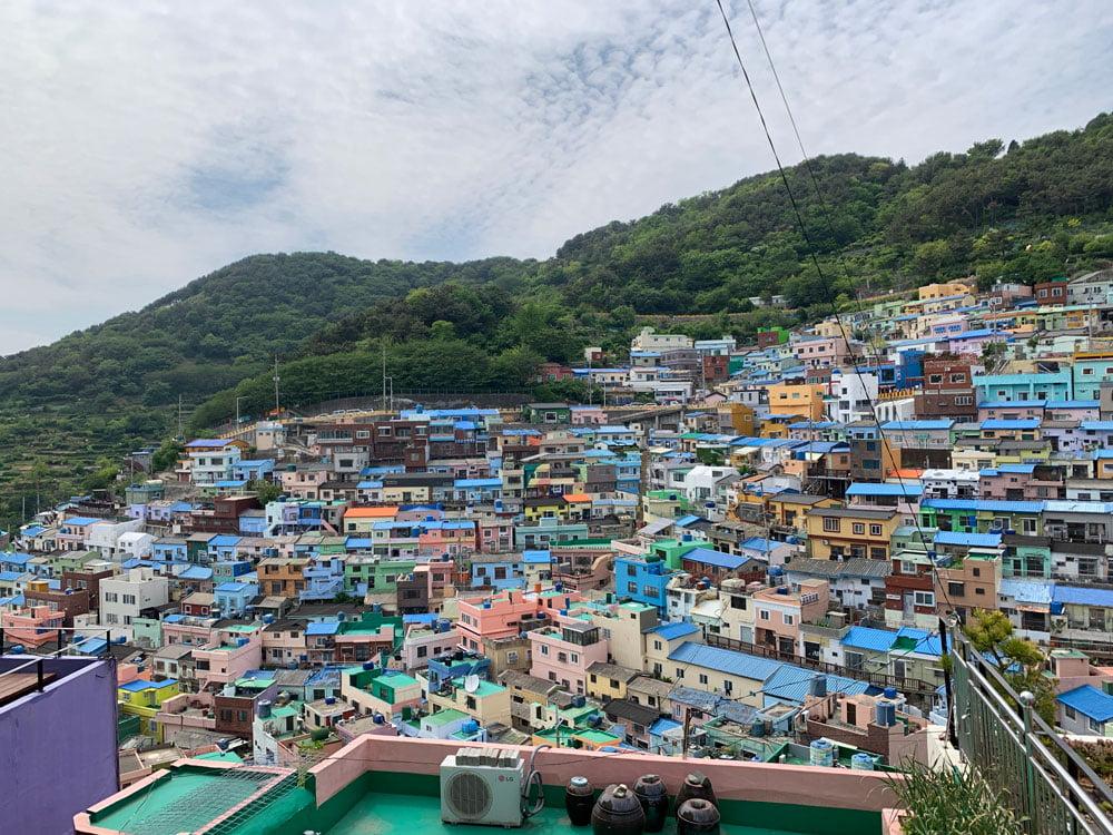 Busan Gamcheon Culture Village Houses