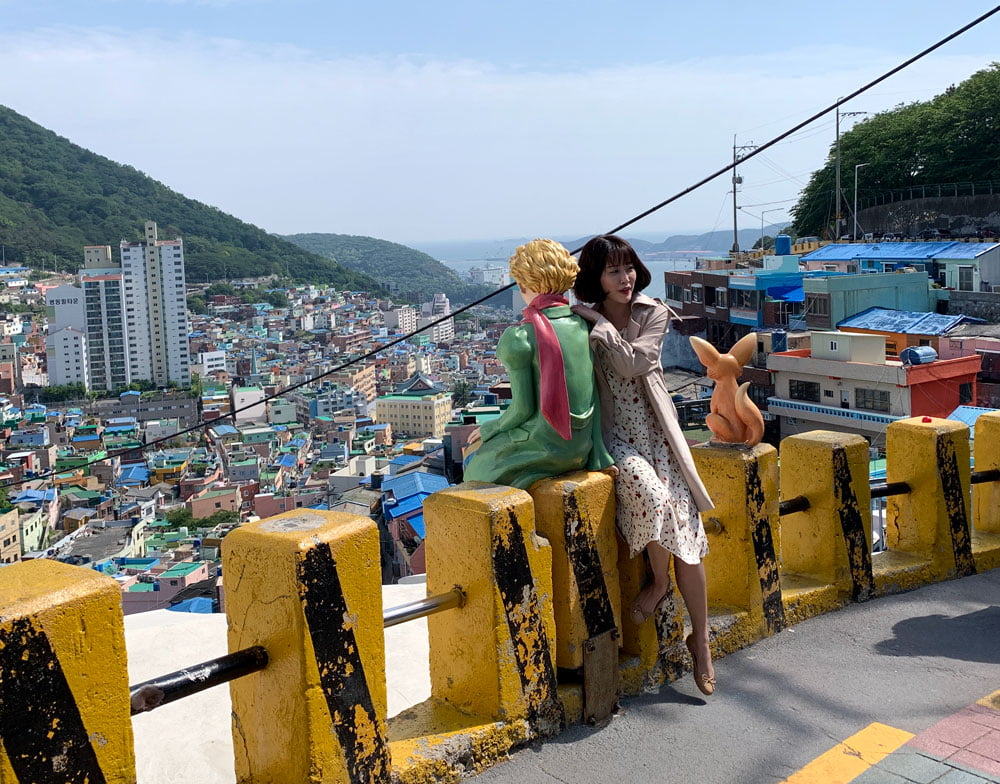Busan Gamcheon Culture Village Little Prince