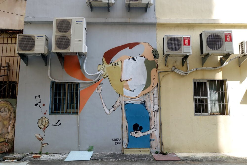 Kaohsiung Weiwuying Street Art Aircon Candybird