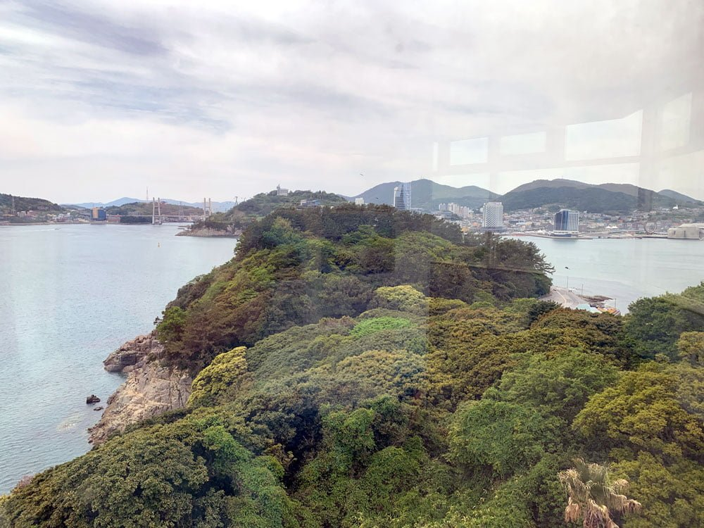 Yeosu Odongdo Lighthouse View