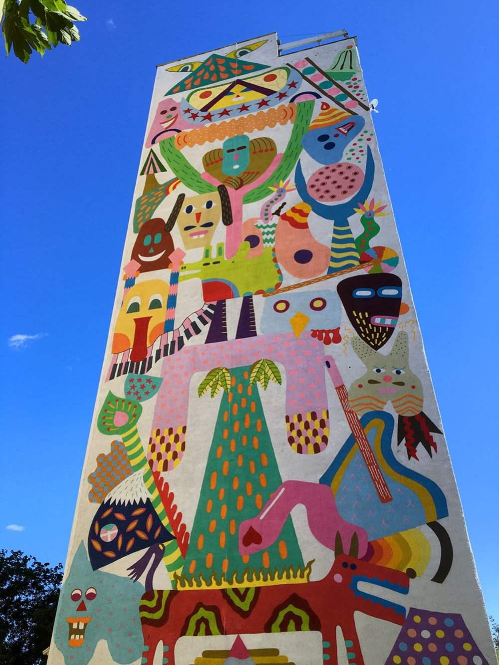 Poland Zaspa Street Art Zosen Bandido