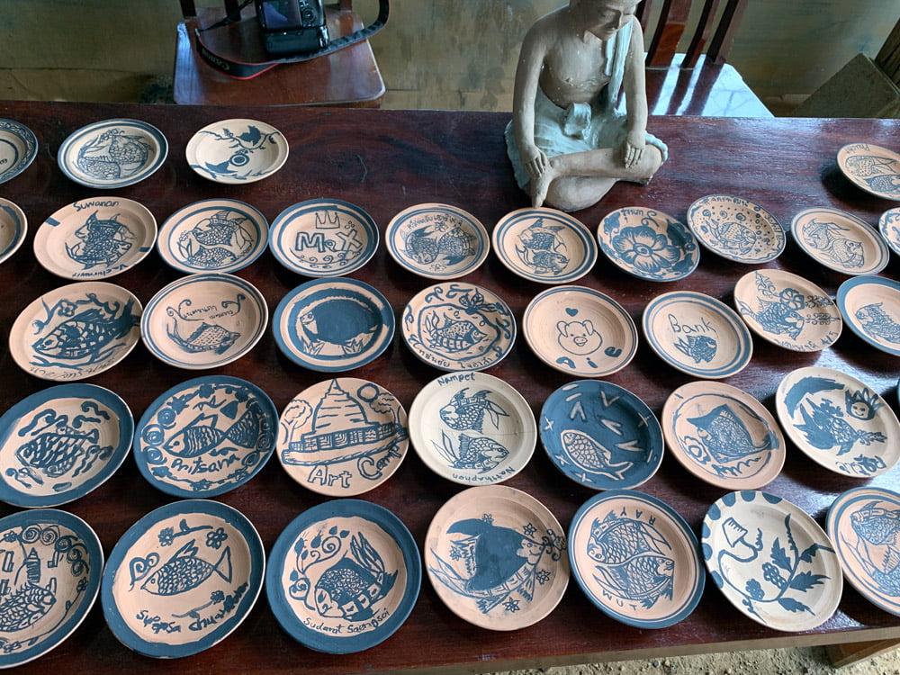Sukhothai Prasert Antique Ceramics Many