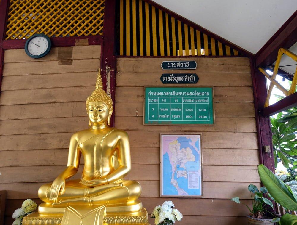 Sukhothai Sawankhalok Train Station Schedule