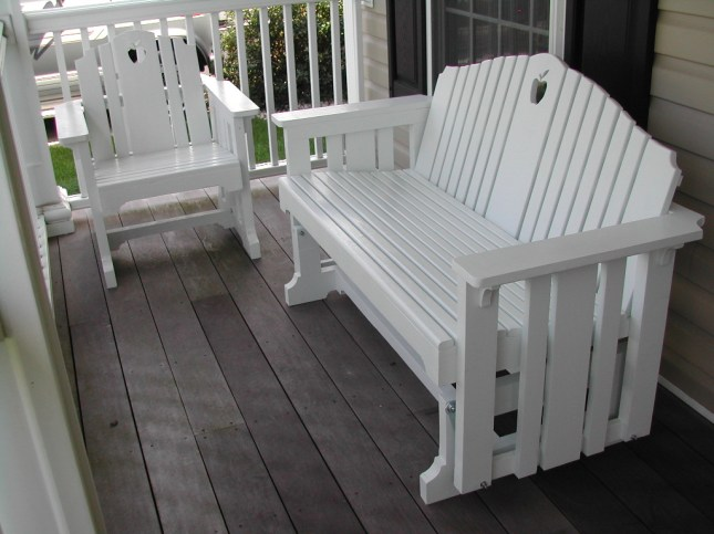 Diy Adirondack Glider Bench Plans Pdf Download Handmade
