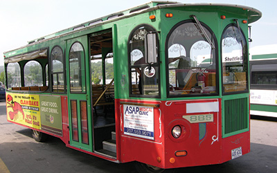 trolley service old orchard beach