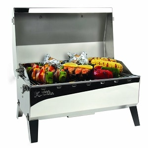Charcoal Grill with Inner Lid Liner