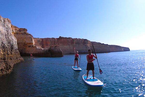Sup Benangil explore adventure Portugal Yacht sailing Algarve