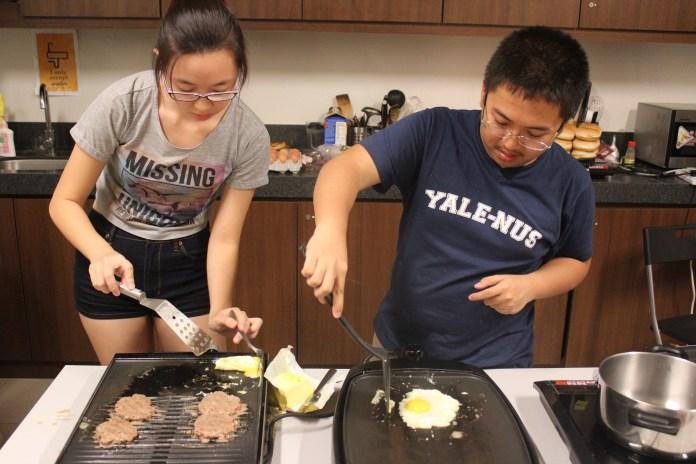 Shiok Shack student associate cooks