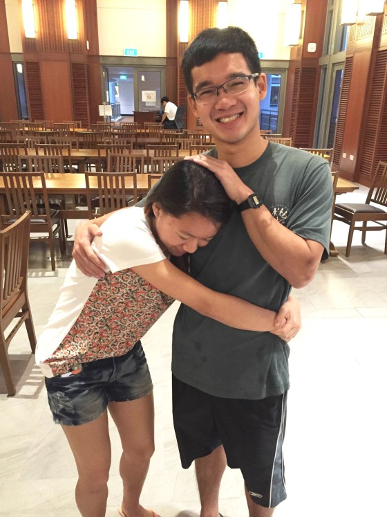 Rachel Ooi '19 said she sees no exceptional use in having an upper-class sibling. (Nicole Lim)