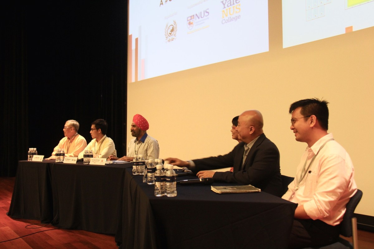 The Policies Not Platitudes forum had representatives from six opposition parties on its panel. (YIRPA)