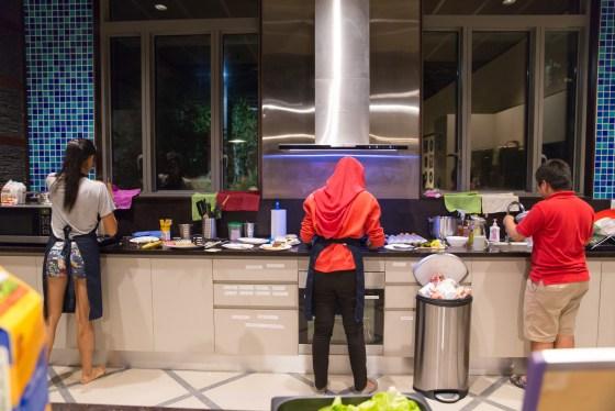 Kitchen Spaces - Photograph by Carol Wang
