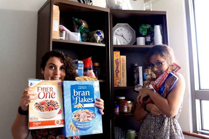 Now that's a well-stocked pantry.